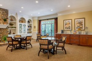 Charter Senior Living of Buford Image Gallery - Community Cafe