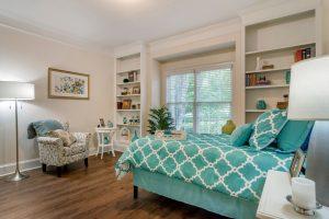 Charter Senior Living of Buford Image Gallery - Studio Apartment Bedroom