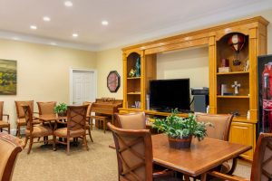 Charter Senior Living of Buford Image Gallery - Community Activity Area