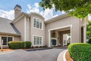 Charter Senior Living of Buford Image Gallery - Portico